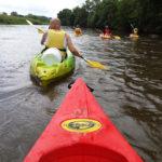 Kanoën op de Arroux